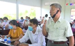 Chuyên đề 13.5 – Tân Phước làm tốt công tác tiếp xúc cử tri vận động bầu cử