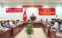 Ủy ban bầu cử tỉnh Tiền Giang tổ chức họp báo