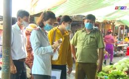 An toàn vệ sinh thực phẩm tại chợ truyền thống