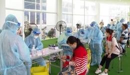 Cách làm hay trong phòng chống dịch Covid-19 tại KCN Long Giang