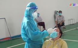 Chuyên đề 30.7- Gò Công Đông lấy mẫu xét nghiệm PCR cho người dân