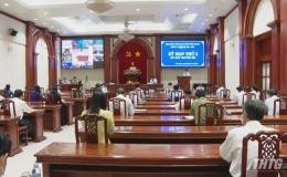 Đại biểu Quốc hội và HĐND tỉnh Tiền Giang không tiếp xúc cử tri do dịch bệnh Covid-19