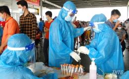 Bản tin cập nhật tìn hình Covid-19 tỉnh Tiền Giang