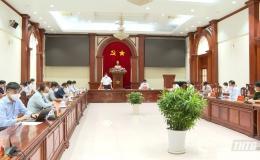 Thứ trưởng Bộ y tế Đỗ Xuân Tuyên làm việc tại Tiền Giang