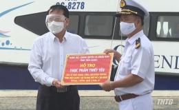Tiền Giang tặng 67 tấn nông sản cho người dân TP. Hồ Chí Minh và Hội đồng hương Tiền Giang