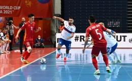 Việt Nam ngẩng cao đầu rời VCK FIFA Futsal World Cup 2021