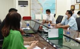 """Ông Phạm Văn Trọng kiểm tra các doanh nghiệp chuẩn bị sản xuất theo phương án """"3 tại chỗ"""""""