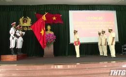 Thành lập Trung đoàn Cảnh sát cơ động dự bị chiến đấu  Công an tỉnh Tiền Giang