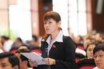 Đoàn ĐBQH TG: Đóng góp ý kiến dự thảo sửa đổi Hiến pháp năm 1992