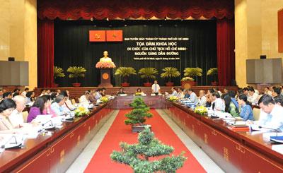 """""""Di chúc của Chủ tịch Hồ Chí Minh – Nguồn sáng dẫn đường"""""""