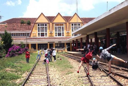 Nhà ga cổ Đà Lạt sẽ vào tác phẩm thi ký họa tại festival lần này.