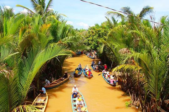 Lịch trình lênh đênh suốt 2 ngày Tết ở vùng sông nước Tiền Giang