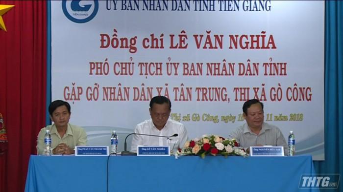 lanh dao tinh gap go nguoi dan xa Tan Trung Go Cong Dong 1