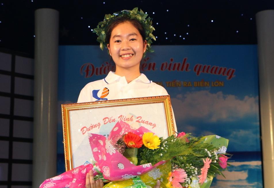 Trần Lê Ngọc Hân – THPT Cái Bè giành tấm vé đầu tiên vào chung kết quý 1