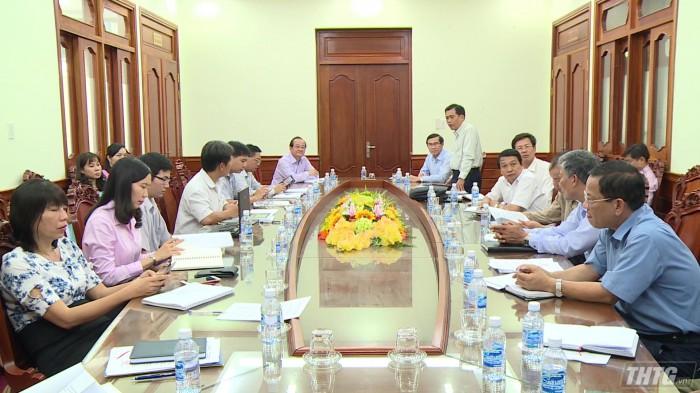 họp bàn giải pháp tổ chức Đường hoa Xuân 2019
