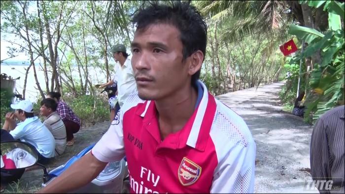 nhân chứng kể lại vụ việc Chìm sà lan trên sông Tiền