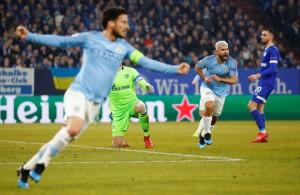Ngược dòng điên rồ, Man City hạ Schalke 04 trên đất Đức