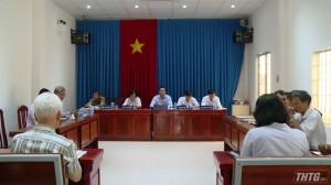 Chủ tịch UBND tỉnh Tiền Giang đối thoại, giải quyết vụ khiếu nại của công dân