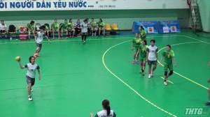 Tiền Giang khai mạc giải bóng ném các câu lạc bộ toàn quốc