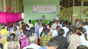 Chủ tịch UBND tỉnh Tiền Giang gặp gỡ người dân xã Phú Quý, Thị xã Cai Lậy