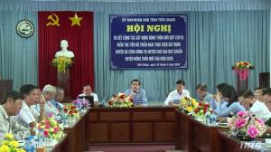 Tiền Giang sơ kết công tác xây dựng nông thôn mới quý I/2019