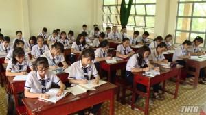Sở GD&ĐT Tiền Giang giao quyền chủ động cho các trường tổ chức thi học kỳ 2