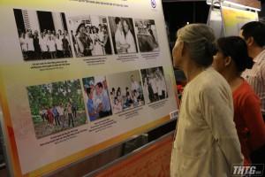 """Khai mạc triển lãm và trưng bày hiện vật """"Tiền Giang – Dấu ấn lịch sử tài liệu lưu trữ"""""""