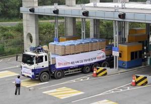 Hàn Quốc viện trợ lương thực cho Triều Tiên