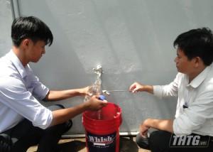 Kiểm tra chất lượng nước ăn uống và nước sinh hoạt