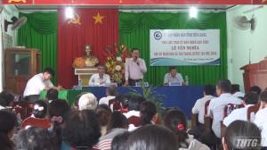 Phó Chủ tịch UBND tỉnh Tiền Giang gặp gỡ người dân xã Tân Thạnh