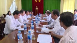 Ông Lê Văn Hưởng kiểm tra tiến độ giải phóng mặt bằng dự án đường cao tốc Trung Lương – Mỹ Thuận