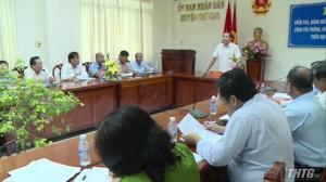 Tiền Giang họp đánh giá công tác phòng, chống bệnh dịch tả heo Châu Phi
