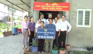 Tân Phú Đông bàn giao mái ấm công đoàn nhân dịp tháng công nhân