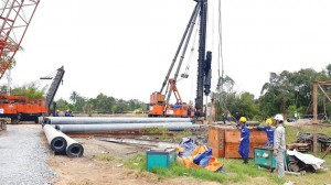 Dự án cao tốc Trung Lương – Mỹ Thuận lại thiếu vốn thi công