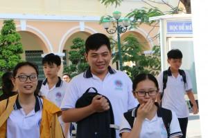 Những cung bậc cảm xúc trong kỳ thi THPT Quốc gia 2019 tại Tiền Giang