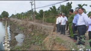 Khảo sát tình hình sử dụng đất và tiến độ thi công các công trình xây dựng tại huyện Tân Phước