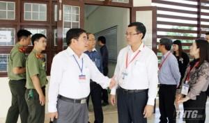 Thứ trưởng Bộ GD-ĐT kiểm tra công tác thi THPT Quốc gia 2019 tại Tiền Giang