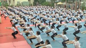Tiền Giang tổ chức ngày tổ chức Ngày Quốc tế Yoga lần thứ V