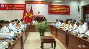 Bộ Trưởng Bộ Tư Pháp Lê Thành Long thăm và làm việc tại Tiền Giang
