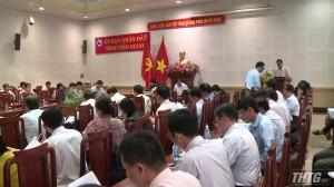 Công bố kết quả kiểm tra công tác kiểm soát thủ tục hành chính tại Tiền Giang