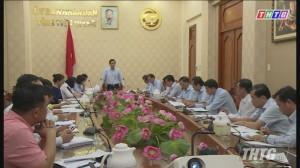 Lãnh đạo UBND tỉnh Tiền Giang làm việc với các nhà đầu tư