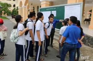Tỷ lệ đậu tốt nghiệp năm 2019 của Tiền Giang là 96,41%