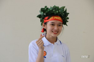 Nữ sinh trường THPT Phước Thạnh (Tiền Giang) giành tấm vé thứ 2 vòng chung kết tháng
