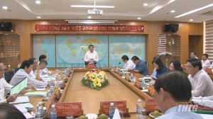 Đoàn công tác Ban Bí thư Trung ương thăm và làm việc tại Tiền Giang