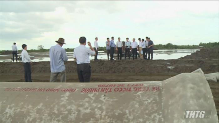 Ong Huong kiem tra KCN Gia Thuan 3