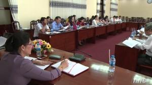 Thường trực HĐND tỉnh họp giao ban 6 tháng đầu năm 2019