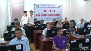 Hội thi Nông dân Tiền Giang với Internet