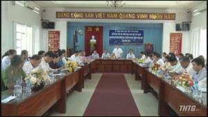 Gò Công Đông sẽ ra mắt huyện nông  thôn mới vào năm 2020