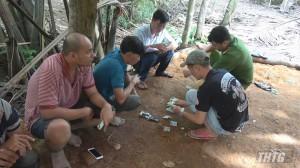 Công an Tiền Giang bắt quả tang tụ điểm đá gà, thu giữ hơn 100 triệu đồng