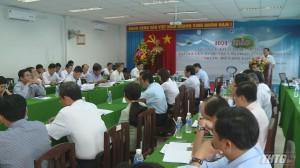 Hội thảo quản lý, khai thác, sử dụng tài nguyên nước tỉnh Tiền Giang